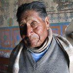 Severino Morales, cuidador de la Iglesia de Parinacota.