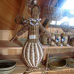 Una sirena hecha por la artesana Ema Ojeda.