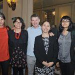 Lia Karmelic, Priscilla Baraona, David Schnell, Carolina Vergara, Paola, Seguel