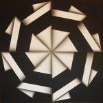 Omar Rayo, Colombia 1928-2010. Toitiot, óleo sobre tela