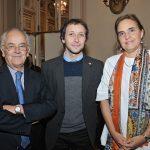 Roberto Fuenzalida, Emilio de la Cerda, Josefina Tocornal