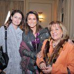 Francisca Valenzuela, Sandra Rendic  y María Angélica