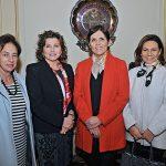 Maria eugenia Hirmas, Esperanza Cueto,  Jamile Camacho y  Lydia Bendersky