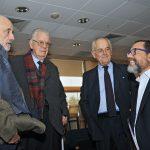 CARLOS ALDUNATE, OSCAR AGUERO, ROBERTO FUENZALIDA, FRANCISCO ORREGO