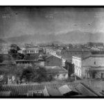 Vista de Santiago, 1890. Autor no identificado