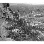 Vista de Santiago desde el cerro Santa Lucia,  1890. Autor no identificado