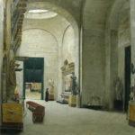 Interior del Louvre Alfredo Valenzuela Puelma 1888