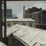 Invierno en París Camilo Mori  1927
