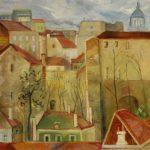 Techos de París Armando Lira  1929